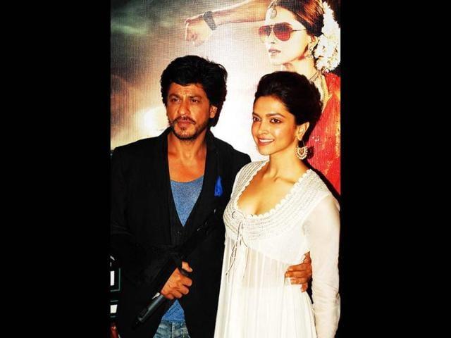 Shah Rukh Khan,Chennai Express,Deepika Padukone