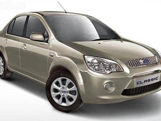 Ford Classic limited edition launched,ford classic price in india,ford classic limited edition