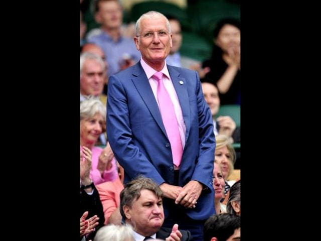 Former-England-cricketer-Bob-Willis-in-the-Royal-Box-on-Centre-Court-on-day-six-of-the-2012-Wimbledon-Championships-tennis-tournament-at-the-All-England-Tennis-Club-in-Wimbledon-London-AFP