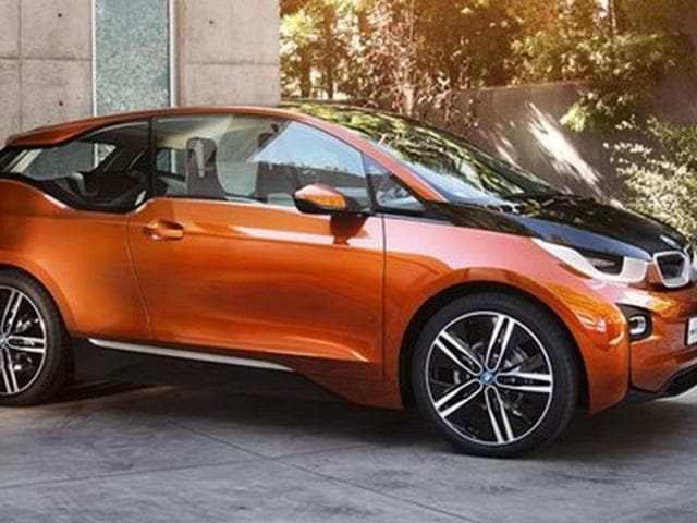 BMW's i3 electric vehicle will be shown to the public in production form for the first time.