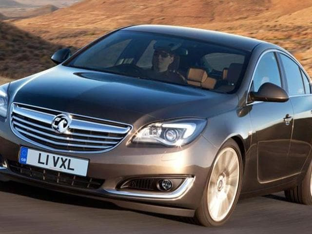Opel's updated Insignia will be at the show as well.