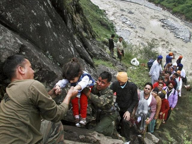 uttarakhand floods,uttarakhand rescue operations,VK Duggal