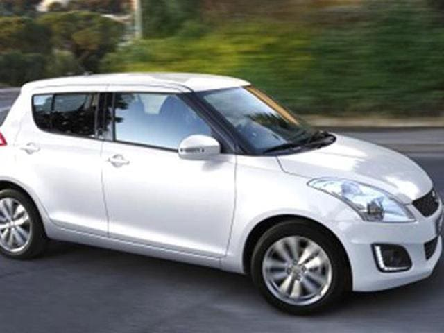 Suzuki Swift facelift leaked