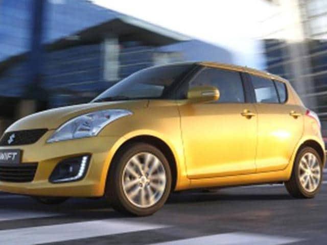 Suzuki Swift facelift photo gallery