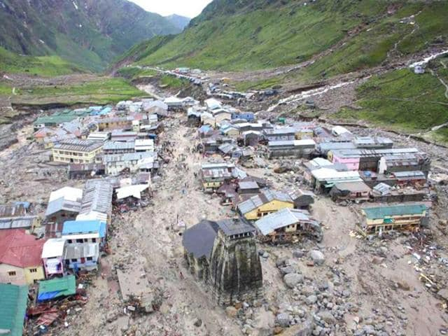 The-Kedarnath-Temple-is-pictured-amid-flood-destruction-in-the-holy-Hindu-town-of-Kedarnath-located-in-Rudraprayag-district-in-Uttarakhand-AFP