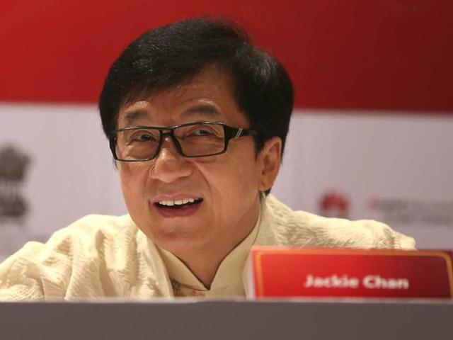 jackie chan,chinese film festival,jackie chan in india