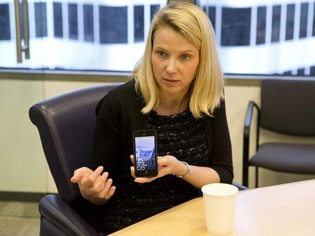 Marissa-Mayer-President-and-CEO-of-Yahoo-answers-questions-during-the-Reuters-Global-Technology-Summit-in-the-Thomson-Reuters-offices-in-San-Francisco-California-Reuters-Beck-Diefenbach
