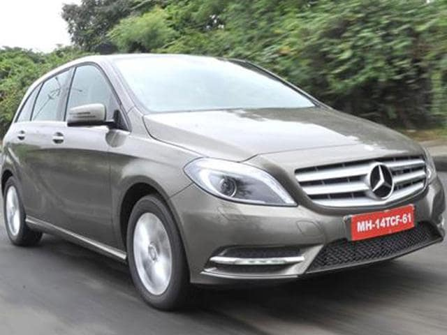 mercedes b-class diesel launch in india