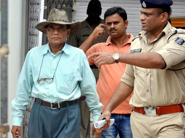 Retired-army-doctor-Somnath-Parida-who-murdered-his-wife-and-chopped-up-her-body-to-pieces-after-his-arrest-in-Bhubaneswar-Arabinda-Mahapatra-HT
