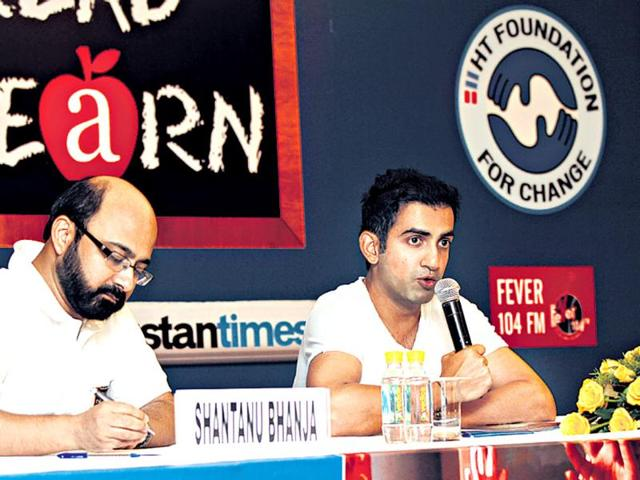 Gautam-Gambhir-at-the-orientation-session-for-volunteers-of-HT-s-You-Read-They-Learn-initiative-HT-photo-Sanjeev-Verma