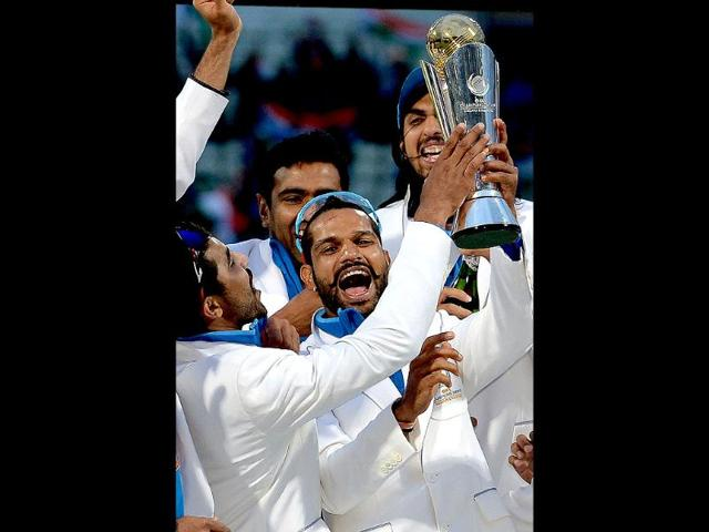 Champions Trophy triumph in England,indian team arrives,west indies