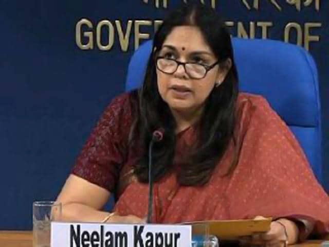 Neelam Kapur,Directorate of Field Publicity,govt spokesperson