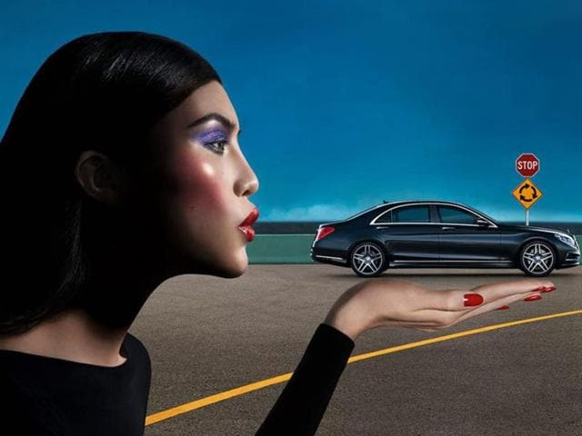 Mercedes-Benz goes fashion mad,CLS 63 AMG,Vision in Motion