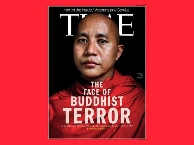 Myanmar,Time magazine,prominent radical monk
