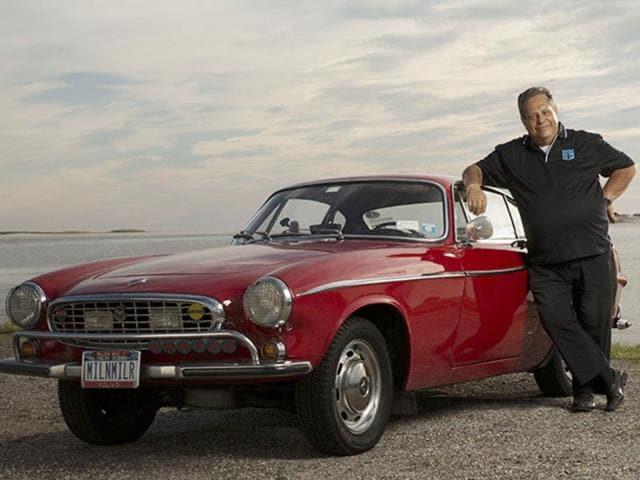 Irv-Gordon-with-his-1966-Volvo-P1800-Photo-AFP