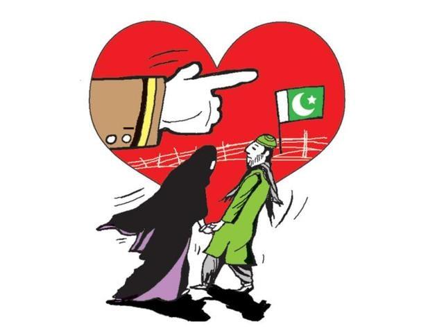 Pakistani couple,Rangers,hindustantimes