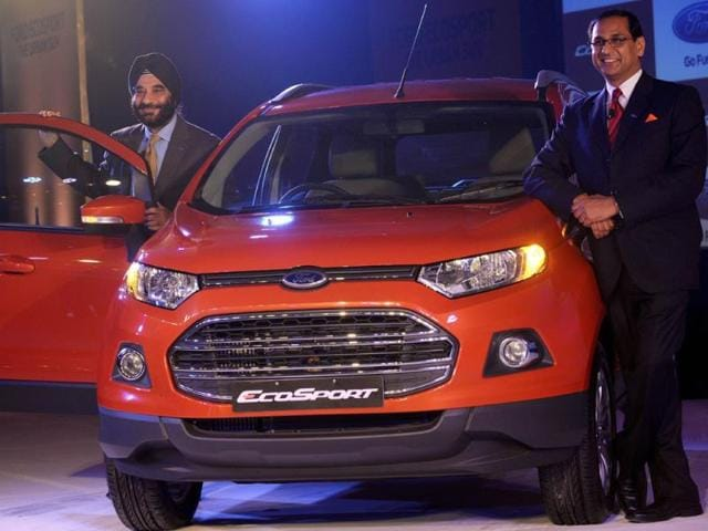 Ford EcoSport launching