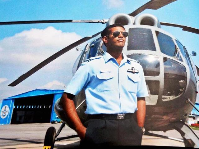 Flight-Lieutenant-K-Praveen-who-died-when-his-MI-17-V5-helicopter-crashed-in-Gaurikund-in-Uttarakhand-on-Tuesday-PTI-photo