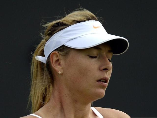 Maria Sharapova,Michelle Larcher,wimbledon
