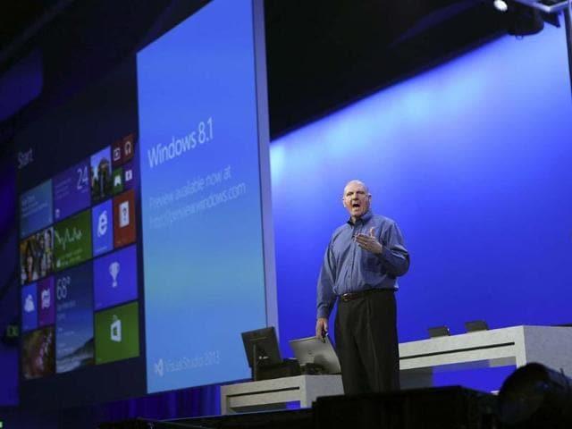 Microsoft,Steve Ballmer,Windows