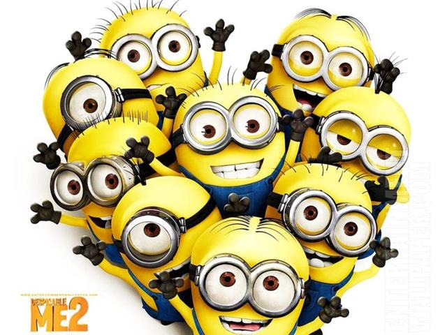 Despicable me,hindustan times,minions