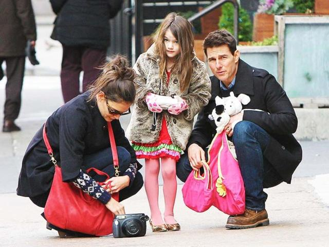 Tom Cruise has hired $50000 security for Suri. Now there