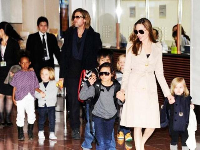 Brangelina have always been open with baby pictures and adoption plans.