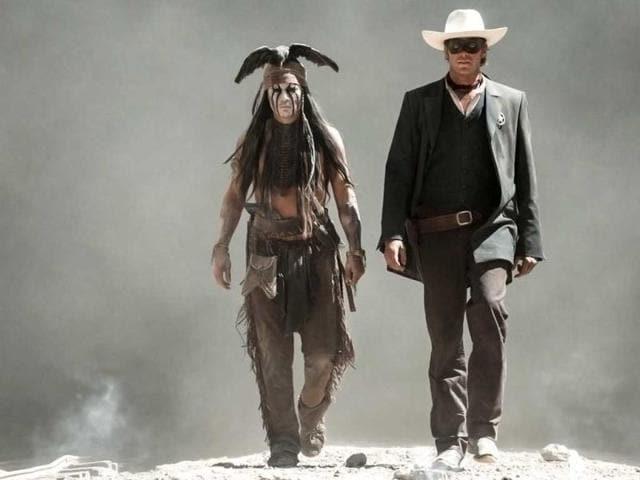 The Lone Ranger,Armie Hammer,Johnny Depp