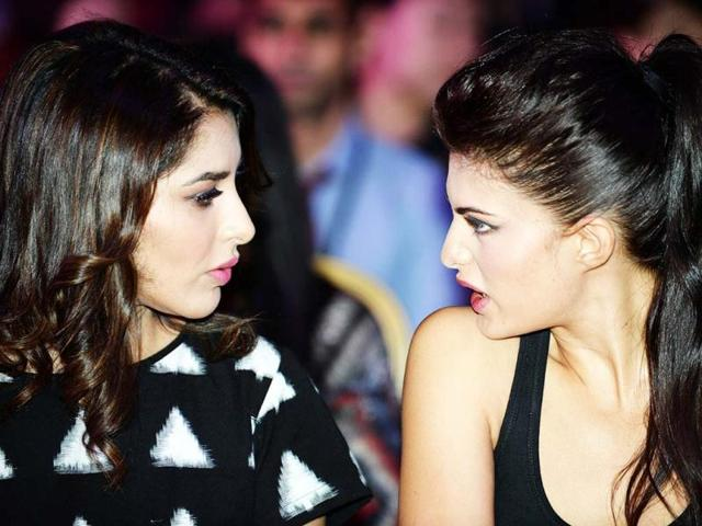 Why should boys have all the fun? Sophie Chowdhury catches up with Jacqueline Fernandez at the opening press conference of the 14th IIFA on July 4, 2013. (AFP Photo)