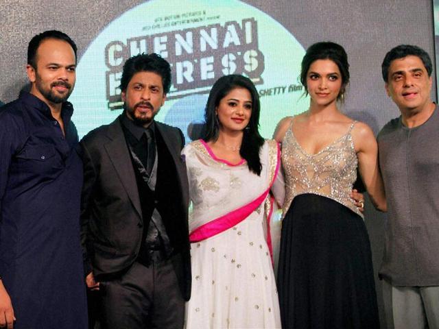 Shah Rukh Khan,Chennai Express,Rohit Shetty