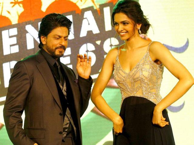 Shah Rukh Khan,Deepika Padukone,Chennai Express