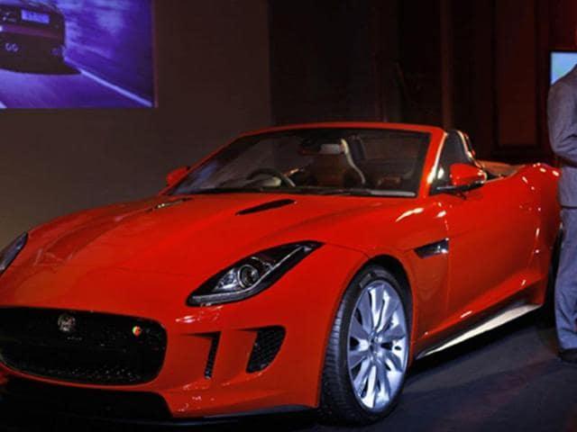 jaguar f-type launch in india