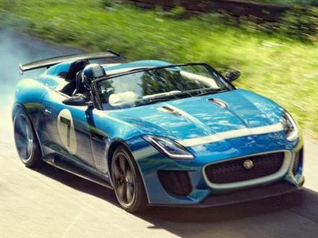 jaguar concept,jaguar project7,goodwood festival of speed