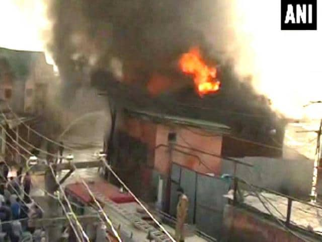 Fire in Srinagar,civil secretariat,Secretariat Building