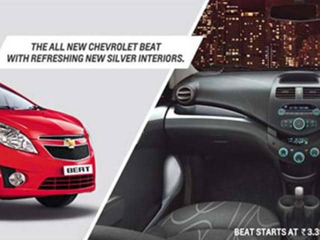 Chevrolet Beat gets minor updates
