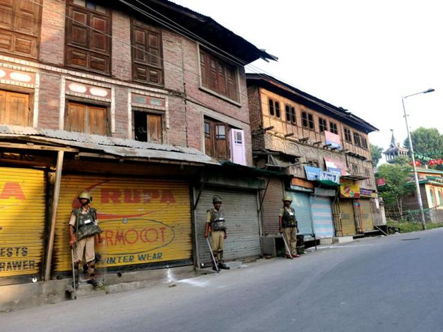 amarnath yatra,ramban protests,Kashmir tense