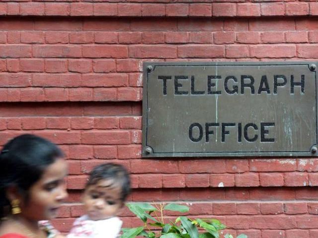 telegraph. last telegram,post office,Kolkata