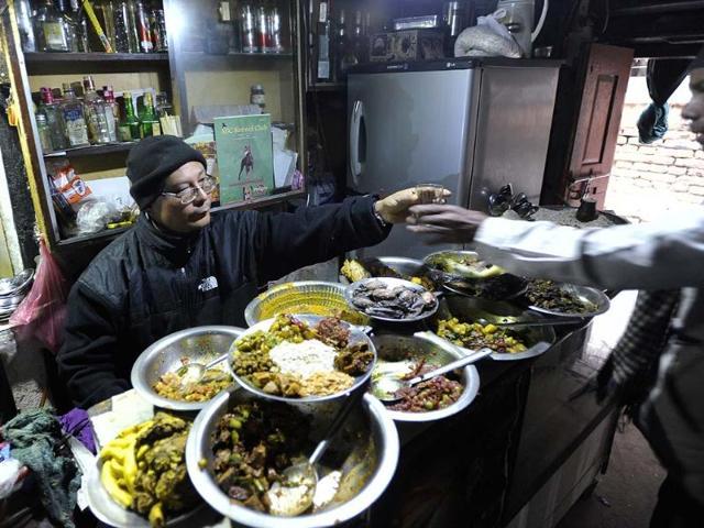 Kathmandu,Nepal,Newari food