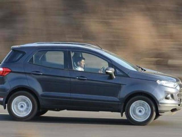 Ford EcoSport gathers 30,000 bookings,ford ecosport price in india