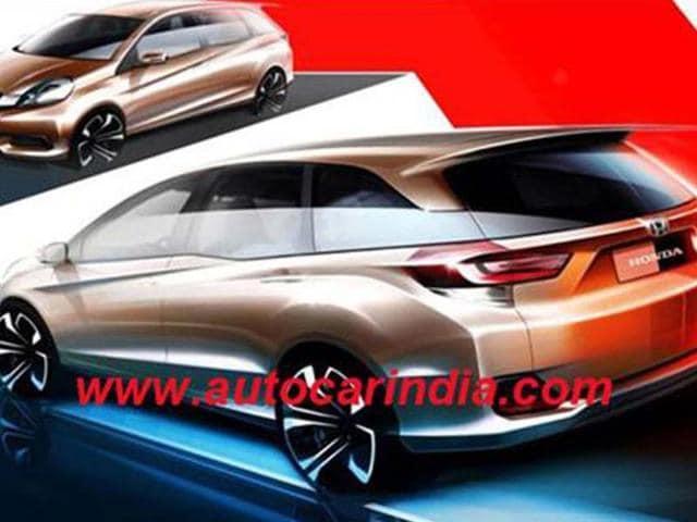 Honda-Brio-based-MPV-unveiled