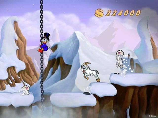 Chasms-bunnies-and-mountain-goats-await-Scrooge-McDuck-in-DuckTales-Remastered-Photo-AFP