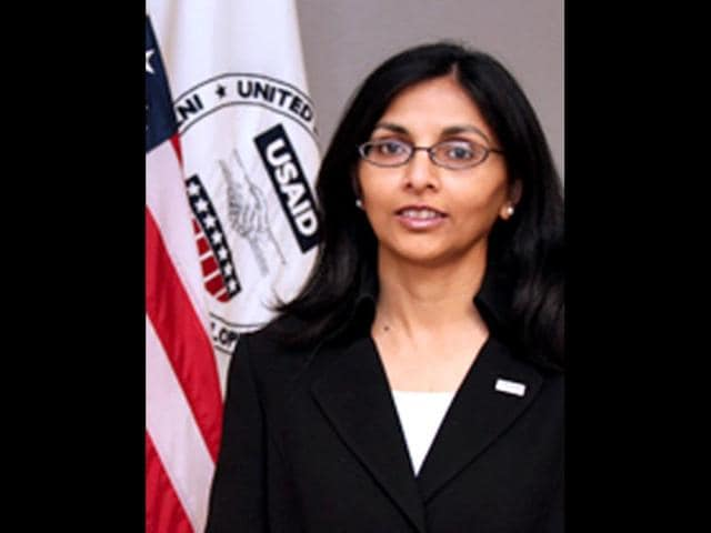 Nisha Desai Biswal,Barack Obama,US assistant secretary of state for South Asia