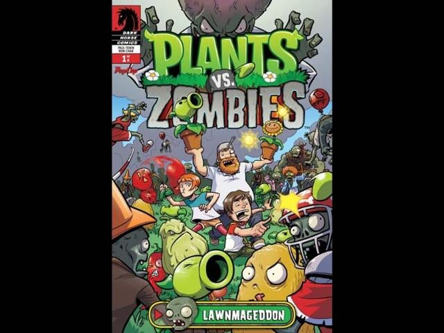 Plants vs  Zombies' becomes digital comic, first issue free | books