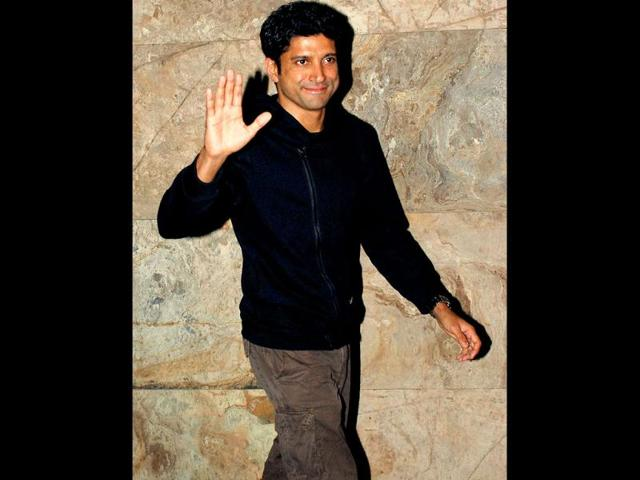 Farhan Akhtar loses chiselled body after Bhaag Milkha Bhaag