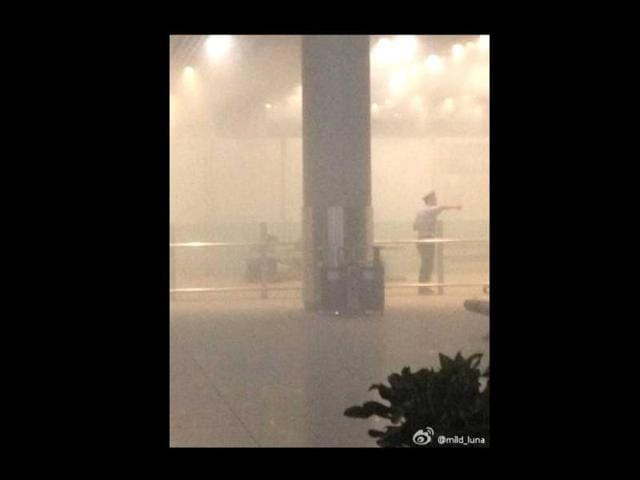 Beijing airport blasts