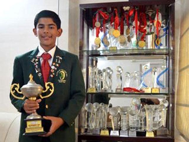 Aadil bedi,World Junior Golf Master championship,5500m yardage