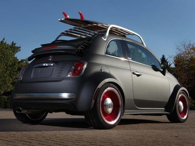 Surf's up for Fiat,Fiat's Beach Cruiser concept car,FIAT 500