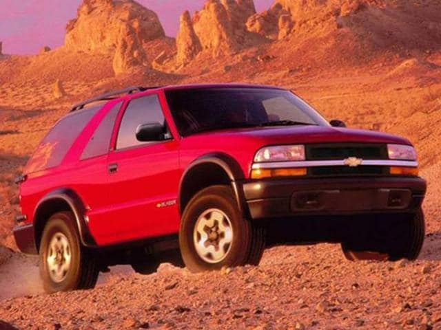 With 1995 came a major redesign of Chevrolet's Blazer SUV