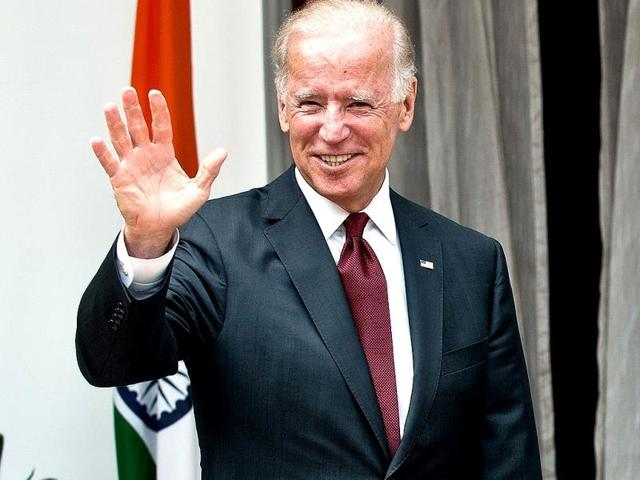 US-vice-president-Joe-Biden-shakes-hands-with-the-leader-of-the-opposition-Sushma-Swaraj-during-a-meeting-in-New-Delhi-AFP