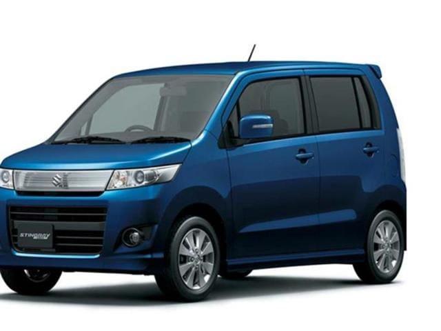 Suzuki WagonR Stingray photo gallery